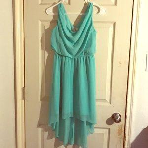 Teal, sleeveless Sweet Storm dress